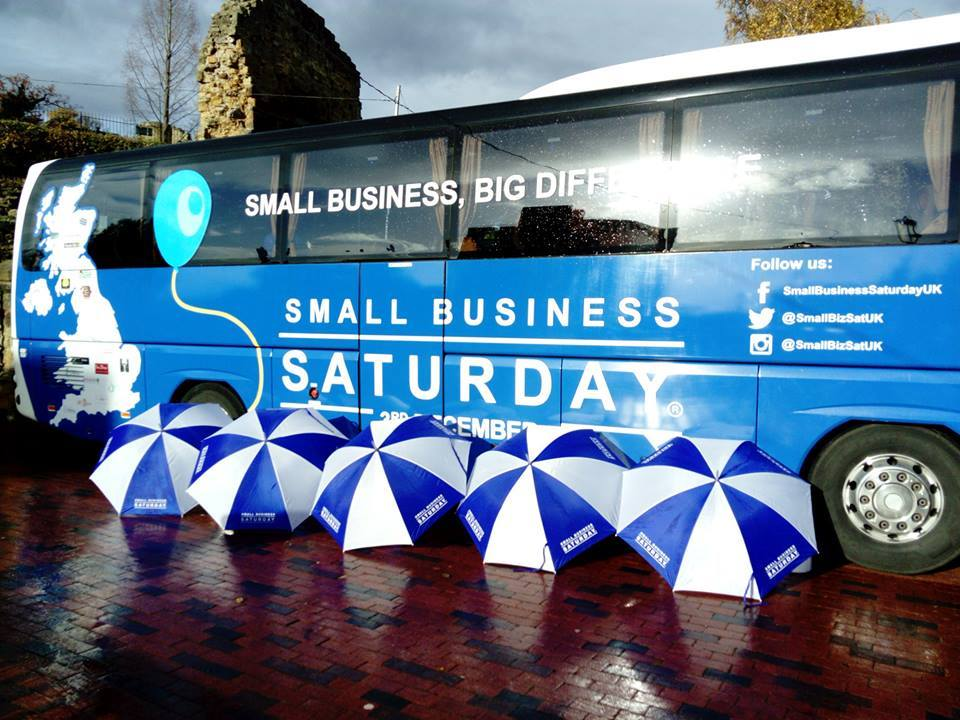 Small Business Saturday Bus image
