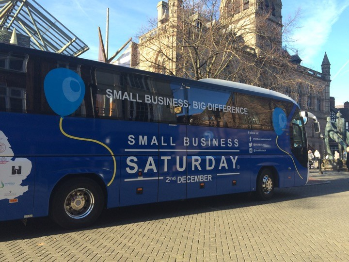 Small Business Saturday Bus 2017